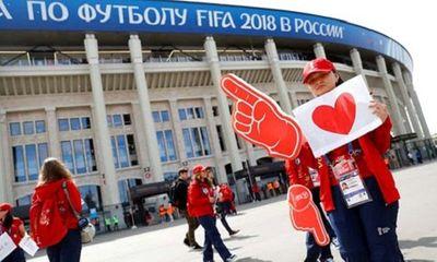 Hình ảnh màn tổng duyệt cuối cùng trước giờ khai mạc World Cup 2018  - ảnh 1