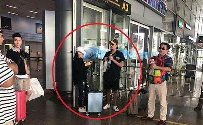 Hé lộ hình ảnh Cát Phượng xuất hiện cùng kiều Minh Tuấn tại sân bay - ảnh 1