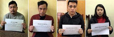 """Vụ 300 cảnh sát truy quét đường dây """"tín dụng đen"""" ở Thanh Hóa: Thêm 4 đối tượng """"sa lưới"""" - ảnh 1"""