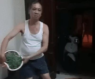 """Video: Bố tự tin vẩy rau để thắng cược 200 nghìn của mẹ nhưng """"đời không như mơ"""" - ảnh 1"""