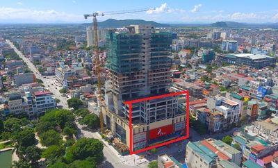"""Thanh Hóa: """"Tiện tay cầm nhầm"""" 279 m2 đất vàng (Kỳ 2): Cận cảnh sai phạm tại công trình TTTM Bờ Hồ - ảnh 1"""
