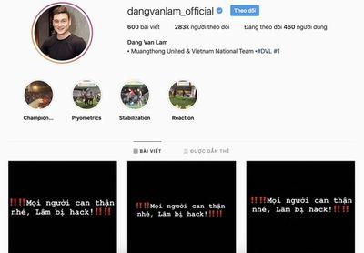 Facebook Đặng Văn Lâm bị hack ngay sau khi gia nhập Muangthong Utd - ảnh 1