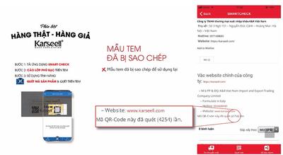 Thông báo V/v bổ sung tem chống hàng giả của công ty K&R Việt Nam - ảnh 1