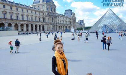 Ngôi Sao - Hoa hậu Á Châu Hoa Kỳ Jennifer Chung khoe ảnh dạo chơi Paris