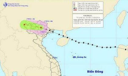 Sự kiện hàng ngày - Bão số 3 đã suy yếu thành áp thấp nhiệt đới