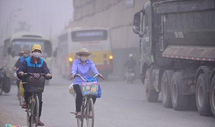 Hiện trường - Chỉ số ô nhiễm bụi ở Hà Nội cao gấp 2 lần Sài Gòn
