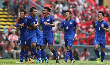 SEA Games 28 - U22 Thái Lan vào chung kết bằng bàn thắng phút bù giờ