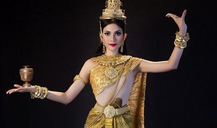 Tin tức giải trí - Trương Thị May mừng tết ĐônTa của người Khmer bằng bộ ảnh đẹp mắt