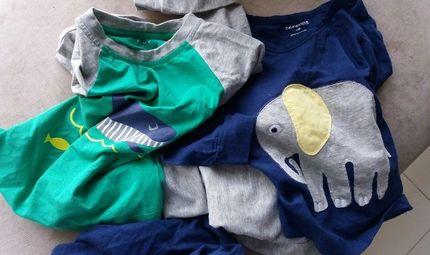 """Hàng thật - Hàng giả - Quần áo trẻ em chất lượng kém: """"Rước bệnh"""" cho bé"""