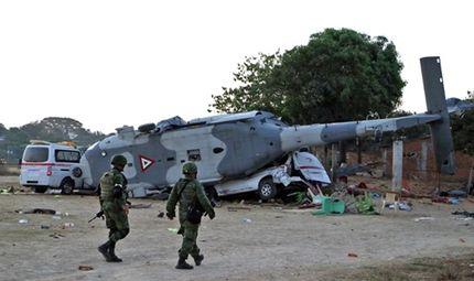 Tin tức - Vụ rơi máy bay chở quan chức tại Mexico: 14 người dưới mặt đất thiệt mạng