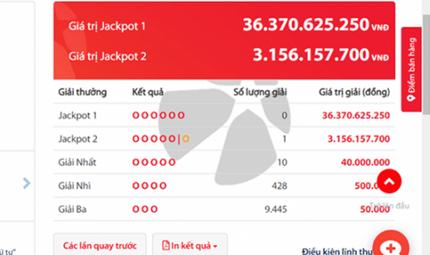"Tin tức - Kết quả xổ số Vietlott hôm nay 21/8/2018: Xem Jackpot hơn 36 tỷ chơi ""trốn tìm"""