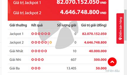 Tin tức - Kết quả xổ số Vietlott hôm nay 16/10/2018: Ai sẽ giải mã Jackpot hơn 79 tỷ đồng?