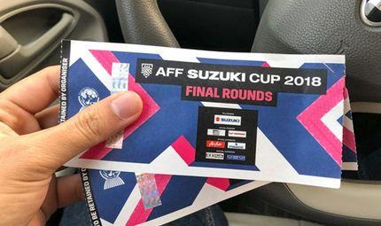 Tin tức - Vé chợ đen 1 ngày trước trận bán kết AFF Cup 2018: Giá nào cũng có, tăng nhanh vùn vụt