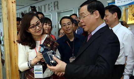 Thực phẩm - Triển lãm OCOP Việt Nam năm 2019 trở thành Hội chợ ấn tượng nhất ở Đông Nam Á