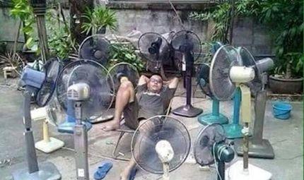 Cộng đồng mạng - Mùa hè đến, cùng nghiên cứu những cách chống nắng nóng bá đạo của dân mạng