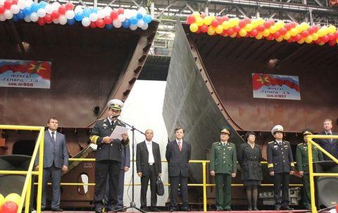 Cuối năm 2016, Hải quân VN tiếp nhận thêm hai chiến hạm Gepard 3.9  - Ảnh 1
