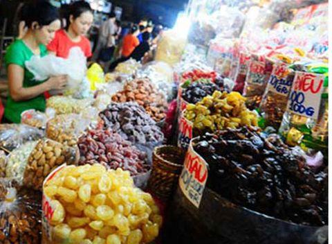 Hoa quả khô Trung Quốc đội lốt hàng Mỹ và Thái - Ảnh 1