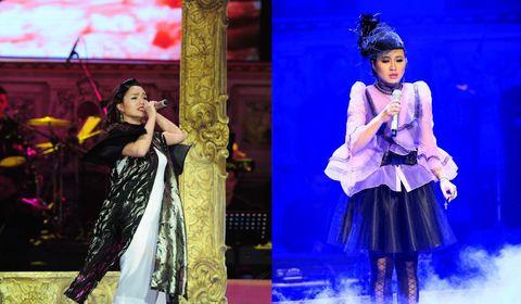 Khánh Linh, Ngọc Anh tranh tài quyết liệt - Ảnh 1