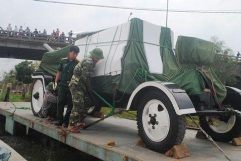 Hình ảnh đoàn xe quân sự phục vụ Lễ tang Đại tướng tại Quảng Bình - Ảnh 2