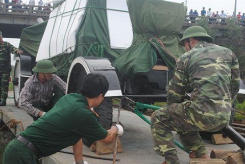 Hình ảnh đoàn xe quân sự phục vụ Lễ tang Đại tướng tại Quảng Bình - Ảnh 5