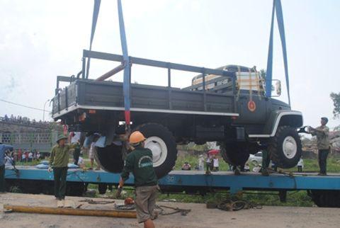 Hình ảnh đoàn xe quân sự phục vụ Lễ tang Đại tướng tại Quảng Bình - Ảnh 9