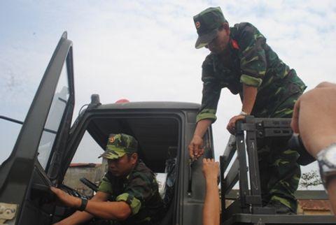 Hình ảnh đoàn xe quân sự phục vụ Lễ tang Đại tướng tại Quảng Bình - Ảnh 13