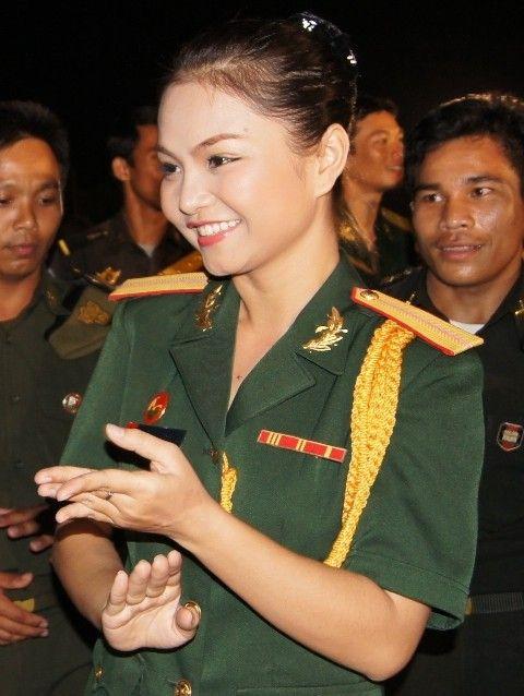 Những nữ quân nhân xinh đẹp của QĐND Việt Nam  - Ảnh 8