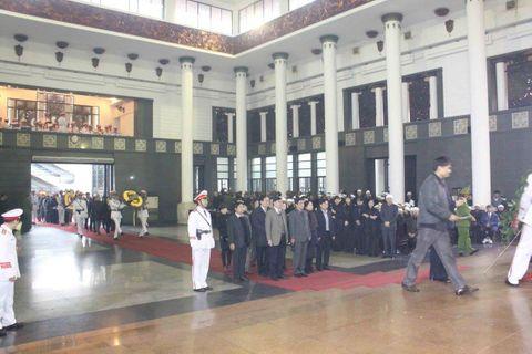 Lễ tang Thượng tướng Phạm Quý Ngọ tại Nhà Tang lễ Quốc gia - Ảnh 4