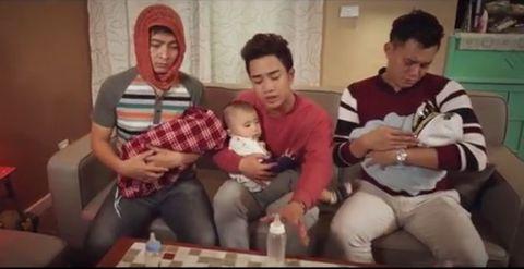 """Siêu hài hước với MV Parody """"Suy nghĩ trong anh""""  - Ảnh 3"""