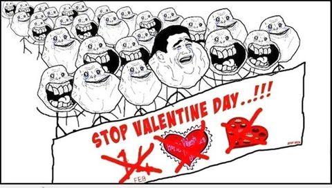 """Ảnh chế hài hước """"Valentine của hội FA"""" - Ảnh 7"""