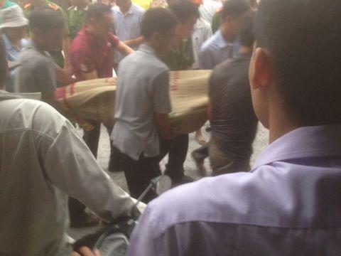 Hiện trường vụ sập lò vôi khiến 5 người tử vong - Ảnh 4