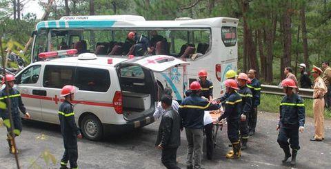 Nghẹn ngào nỗi đau của người thân nạn nhân vụ tai nạn trên đèo Prenn - Ảnh 1