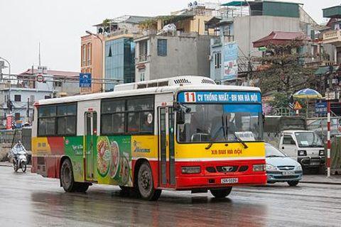 Trang bị wifi miễn phí trên xe buýt Hà Nội - Ảnh 1