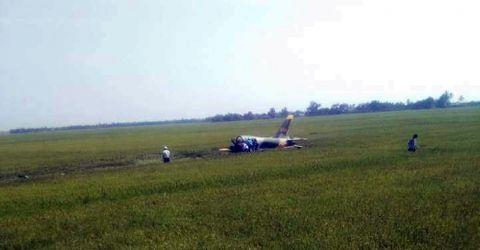 Tin trong nước - Máy bay huấn luyện rơi tại Phú Yên, 1 phi công trẻ hy sinh