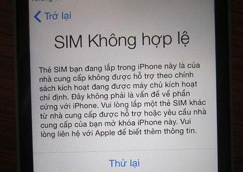 Công nghệ - iPhone bị khóa mạng, người dùng Việt Nam hoang mang