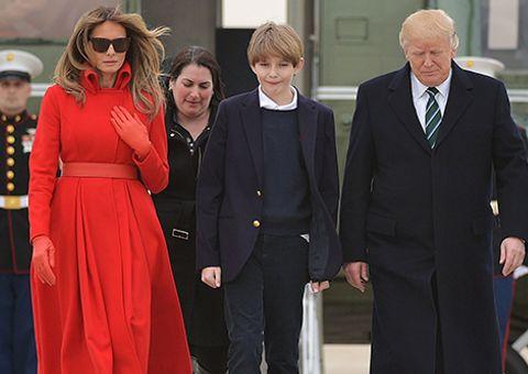 Nhà Trump chọn trường mới cho quý tử ở Washington
