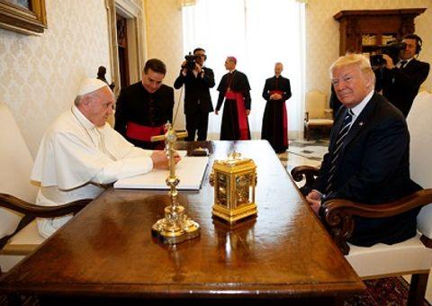 Tin thế giới - Tổng thống Donald Trump gặp Giáo hoàng Francis tại Vatican
