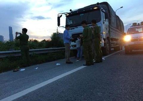 An ninh - Hình sự - Hà Nội: Điều tra vụ vợ chồng tài xế xe tải bị cướp tấn công trên đại lộ