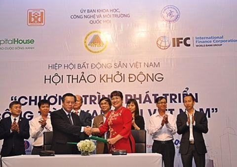 Tài chính - Doanh nghiệp - Phúc Khang tiên phong cam kết Phát triển công trình xanh tại Việt Nam
