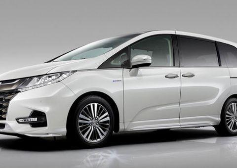 Tin tức - Xem bản nâng cấp mới nhất của MPV Honda Odyssey 2018