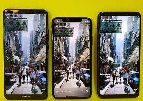"""Tin tức - iPhone X đọ camera kép với """"bộ 3 hoàn hảo"""": Samsung Galaxy Note 8, LG V30, Huawei Mate 10 Pro"""