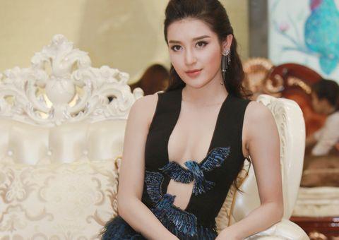 Tin tức giải trí - Á hậu Huyền My diện váy cut-out táo bạo khoe nhan sắc gợi cảm