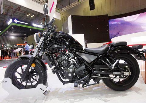 Tin tức - Rebel 300 giá 170 triệu sẽ trở thành mẫu phân khối lớn đầu tiên của Honda tại Việt Nam?