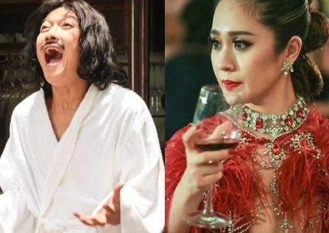 """Tin tức - Trường Giang """"lên đời"""", Thanh Thúy diện bikini khoe vòng 1 trong phim Tết"""