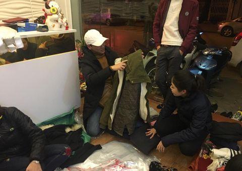 Đồng hành nhà hảo tâm - Công ty Ngọc Tú làm thiện nguyện trong đêm đông