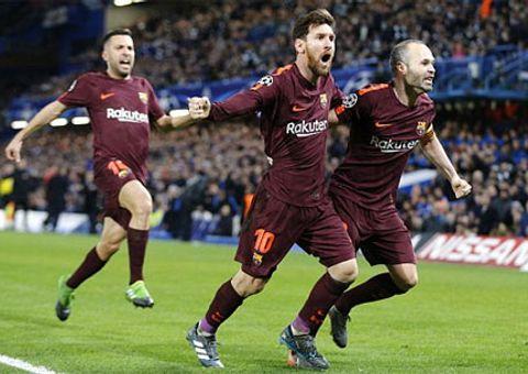 Clip Chelsea 1-1 Barcelona: Lần đầu của Messi