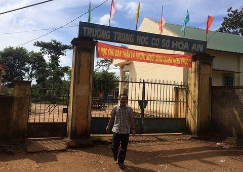 """Tin tức - Đắk Lắk: Một hiệu trưởng bị tố nhận 300 triệu đồng """"chạy"""" việc"""