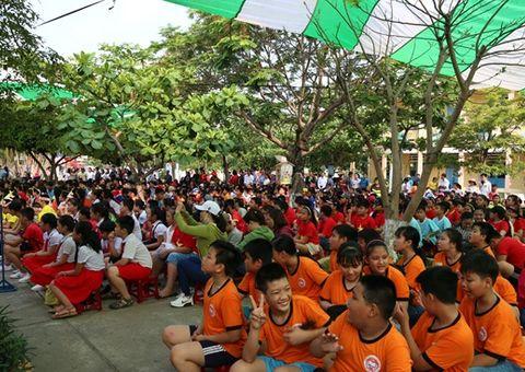 Cần biết - FrieslandCampina Việt Nam đồng hành cùng ngày hội học sinh tiểu học tại Đà Nẵng