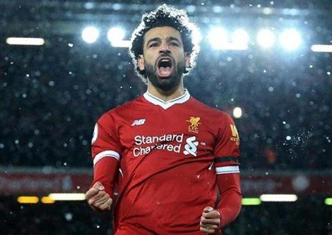 """Infographic: Salah – chiến binh Ai Cập của """"lữ đoàn đỏ"""" tỏa sáng trong trận đấu với Roma"""