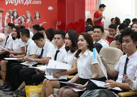 Truyền thông - Thương hiệu - Vietjet tuyển số lượng lớn tiếp viên phục vụ 100 đường bay quốc tế